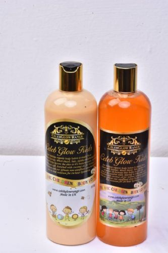 Children body wash and lotion 500g each